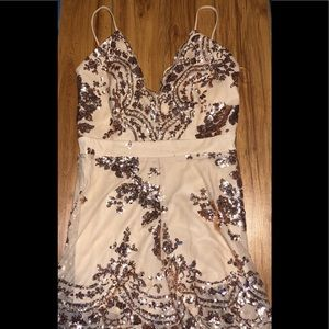 Windsor Sequin romper